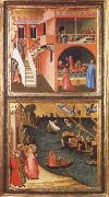 Ambrogio Lorenzetti St Nicholas is Elected Bishop of Mira oil painting picture wholesale