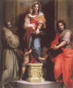 Andrea del Sarto Madonna of the Harpies oil painting picture wholesale