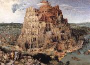 BRUEGEL, Pieter the Elder The Tower of Babel oil painting picture wholesale