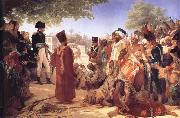 Baron Pierre Narcisse Guerin Bonaparte Pardoning the Insurgents in Cairo oil