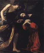 CRESPI, Giovanni Battista THE agony of Christ oil painting artist