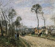 Camile Pissarro The Road from Louveciennes oil painting picture wholesale