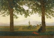 Caspar David Friedrich The Garden Terrace oil painting picture wholesale