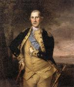 Charles Willson Peale George Washington oil
