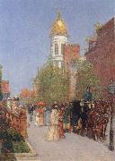 Childe Hassam A Spring Morning oil painting picture wholesale