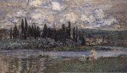 Claude Monet View of Vetheuil oil painting picture wholesale