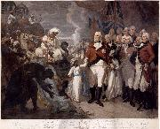 Daniel Orme Lord Cornwallis Receiving the Sons of Tipu Sultan as Hostages oil painting