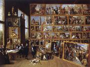 David Teniers Arobduke Leopold Wilhelm in his gallery in Brussels oil painting picture wholesale