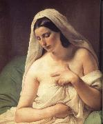 Francesco Hayez Odalisque oil painting picture wholesale