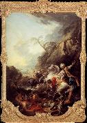 Francois Boucher Leopard Hunt oil painting picture wholesale
