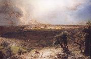 Frederic Edwin Church Jerusalem Seen from Mount Olive oil painting picture wholesale