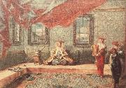 GUARDI, Gianantonio Scene in a Harem oil painting picture wholesale