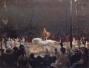 George Bellows The Circus oil painting picture wholesale