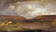 George Inness On the Delaware River oil painting picture wholesale