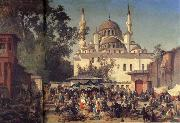 Germain-Fabius Brest View of Constantinople oil painting picture wholesale