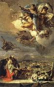 Giambattista Tiepolo Hl. Thekla erlost Este of the plague oil painting picture wholesale