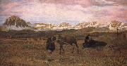 Giovanni Segantini Returning Home oil painting picture wholesale