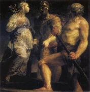 Giuseppe Maria Crespi Aeneas with the Sybil and Charon oil painting picture wholesale