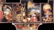 Grunewald, Matthias Concert of Angels and Nativity oil painting picture wholesale