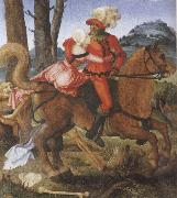 Hans Baldung Grien The Knight the Young Girl and Death oil painting picture wholesale