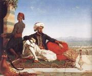 Hicks, Thomas Advocat Taylor with a View of Damascus oil painting picture wholesale