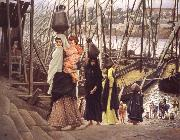 James Tissot Sojourn in Egypt oil painting picture wholesale