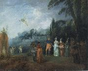 Jean-Antoine Watteau Embarking for Cythera oil painting picture wholesale