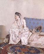 Jean-Etienne Liotard Portrait of Mary Gunning Countess of Coventry oil painting picture wholesale