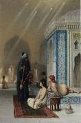 Jean-Leon Gerome Pool in a Harem oil painting picture wholesale