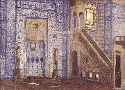 Jean-Leon Gerome Interior of a Mosque oil painting picture wholesale