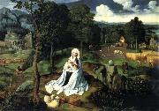 Joachim Patinir Races on that curses to Egypt oil painting reproduction