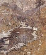 John Henry Twachtman Hemlock Pool oil painting picture wholesale
