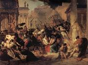 Karl Briullov Genseric-s Invasion of Rome oil painting picture wholesale