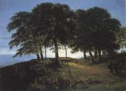 Karl friedrich schinkel Morning oil painting artist
