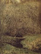 Levitan, Isaak Fruhing in the forest oil painting artist