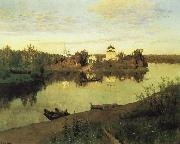 Levitan, Isaak Evening sound oil painting picture wholesale