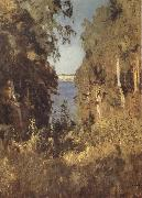 Levitan, Isaak Gorge oil painting picture wholesale