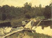 Levitan, Isaak At the Shallow oil painting picture wholesale
