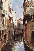 Levitan, Isaak Canal in Venice oil painting picture wholesale