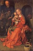 Martin Schongauer Holy Family oil painting picture wholesale