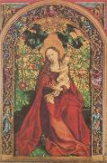 Martin Schongauer Madonna at the Rose Bush oil painting picture wholesale