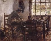 Max Liebermann Cobbler-s Workshop oil painting picture wholesale