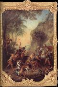 Nicolas Lancret Tiger Hunt oil painting picture wholesale
