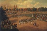 Otto Boetticher Seventh Regiment on Review oil painting picture wholesale