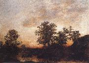 Ralph Blakelock After sundown oil painting picture wholesale