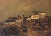 Ralph Blakelock Old New York Shanties at 55th Street and 7th Avenue oil painting picture wholesale
