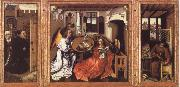 Robert Campin Annunciation The Merode Altarpiece oil painting picture wholesale
