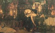 Sir Lawrence Alma-Tadema,OM.RA,RWS The Death of the first Born oil painting picture wholesale