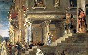 TIZIANO Vecellio Presentation Maria in the temple oil painting picture wholesale