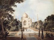 Thomas Daniell South View of the Taj Mahal at Agra oil painting picture wholesale